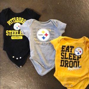 Steelers bodysuits